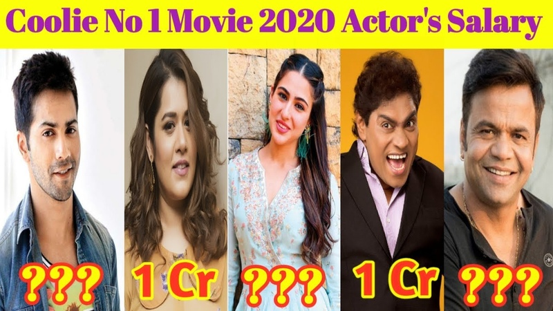 Coolie No 1 Movie 2020 Actors Salary | Varun Dhawan | Sara Ali Khan | Hammad TV