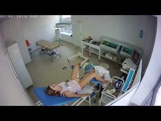 Hidden spy cam gynecological examination young old