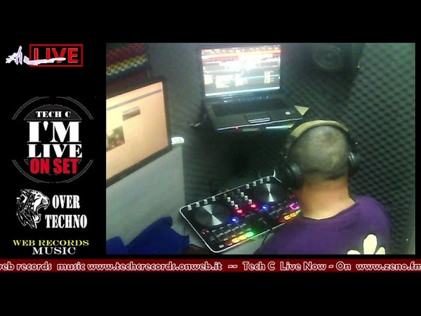 WEB RECORDS RADIO SHOW PRESENT :TECH C LIVE