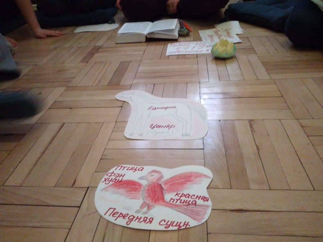Урок для детей на квартире в Петербурге