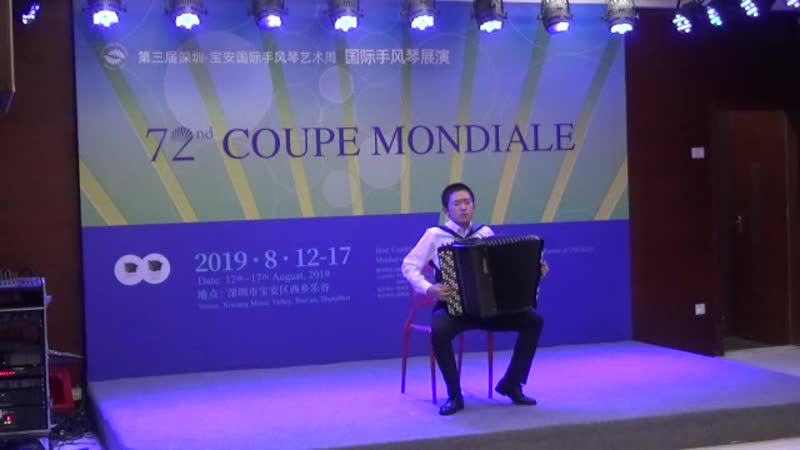 Junior Coupe Mondiale 2nd Round, №17, Hang Ding, China