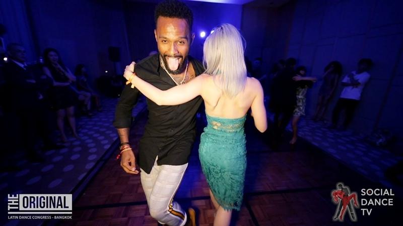 Tony Pirata Sara Lopez - Kizomba Social Dancing | The Original Latin Dance Congress 2019 (Bangkok)