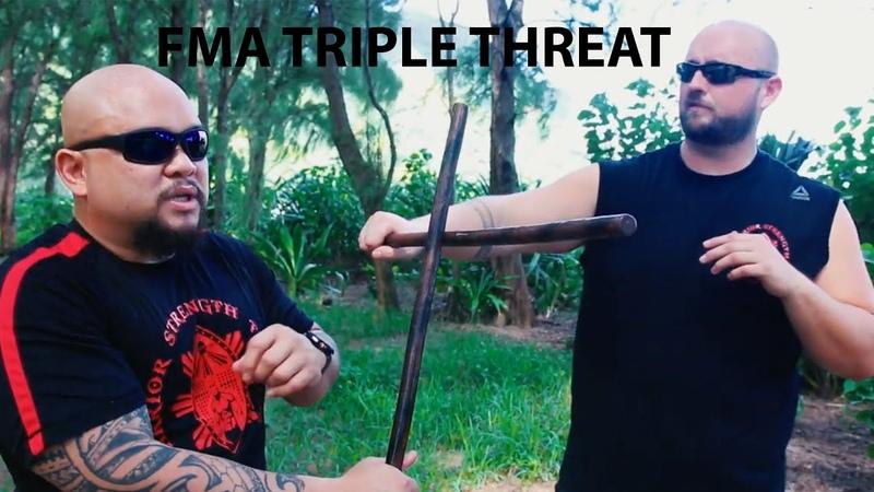 Filipino Martial Arts Triple Threat Pekiti Tirsia Balintawak NSI