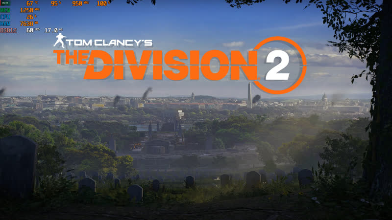 Tom Clancy's The Division 2 Fx 8320 ram 12gb HD 7950 3gb
