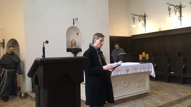XXX е рядовое воскресенье в монастырском храме св Антония Чудотворца