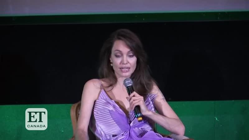 Angelina Jolie And Michelle Pfeiffer Talk Maleficent_ Mistress Of Evil (1)