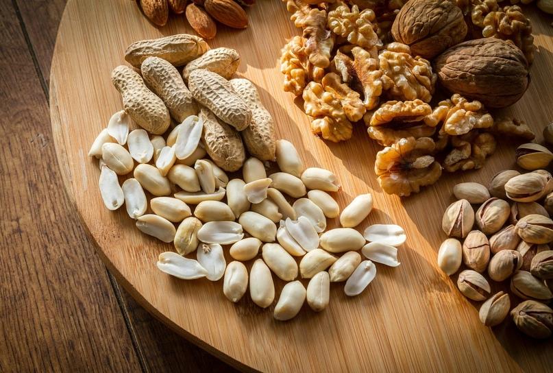 Орехи — полезный перекус, стимулирующий мозг и насыщающий белками