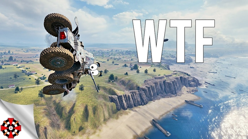 World of Tanks Funny Moments WTF MOMENTS 432 WoT glitches RNG