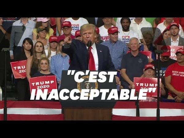 Donald Trump lance sa campagne pour 2020 sur un ton très offensif