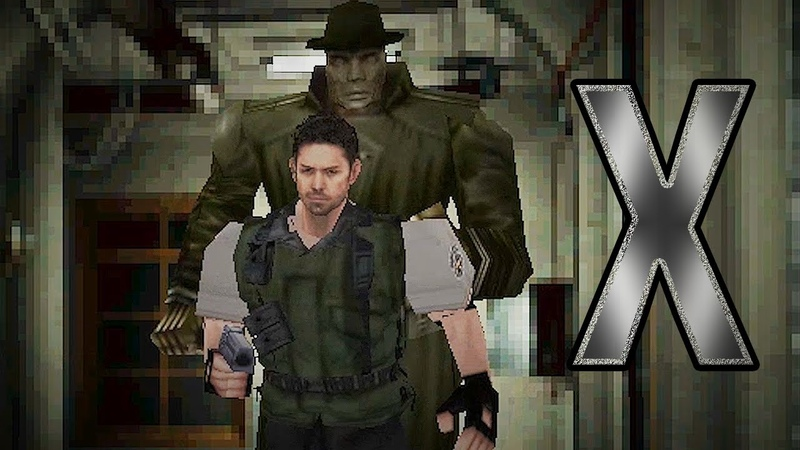Resident Evil 2 Chris meets Wesker - Mr X is RUNNING | 바이오하자드2를 플레이하는 크리스 ㅋㅋㅋ 그런데..