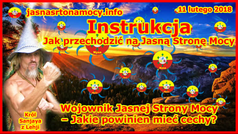 Instrukcja Jak przechodzić na Jasną Stronę Mocy Wojownik JSM Jakie powinien mieć cechy