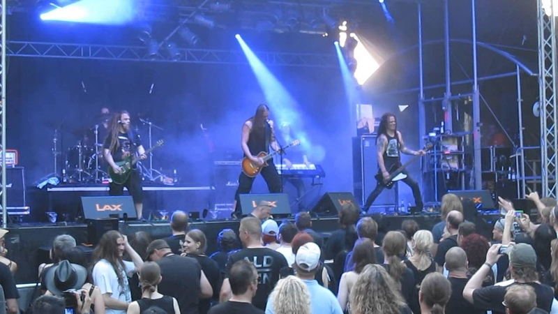 Poisonblack - Soul In Flames *live* @ Castle Rock Festival, Mülheim an der Ruhr, 03.07.2015