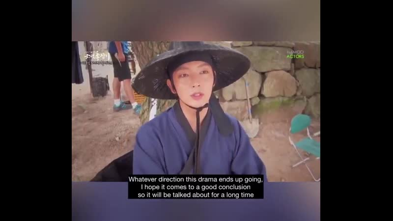 2014 09 04 ENG sub JG's goodbye message on last day of filming for Gunman in Joseon