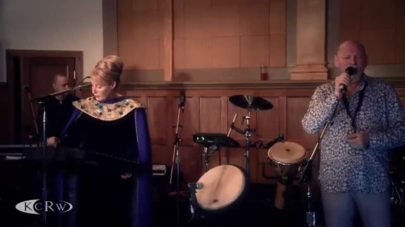 """Dead Can Dance performing """"Children Of The Sun"""" Live at the Village on KCRW"""