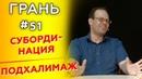 ГРАНЬ с А Митрофановым СУБОРДИНАЦИЯ vs ПОДХАЛИМАЖ Cтудия РХР