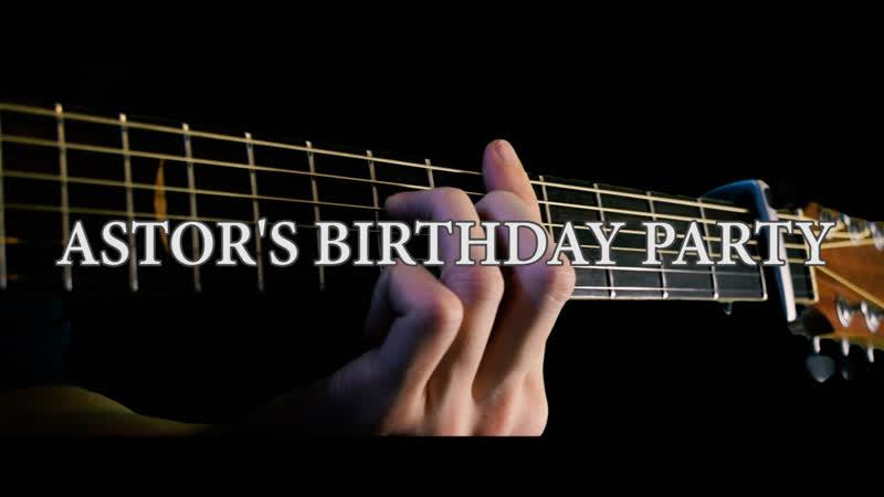 Dexter OST Astor's Birthday Party F C cover arr by Eddie van der Meer