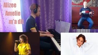 Alizée - Amélie m'a dit (piano cover) sheet music
