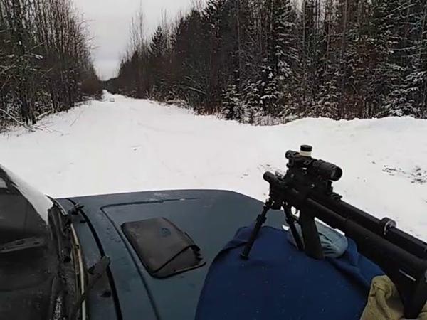VL-21 5.5 отстрел на 40 м без модэра