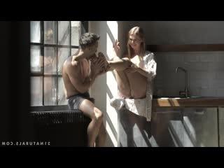 красивое нежное порно с Violette Pure минет кунилингус нежный секс