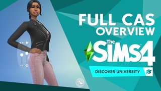 The Sims 4 Discover University: FULL Create A Sim Overview!