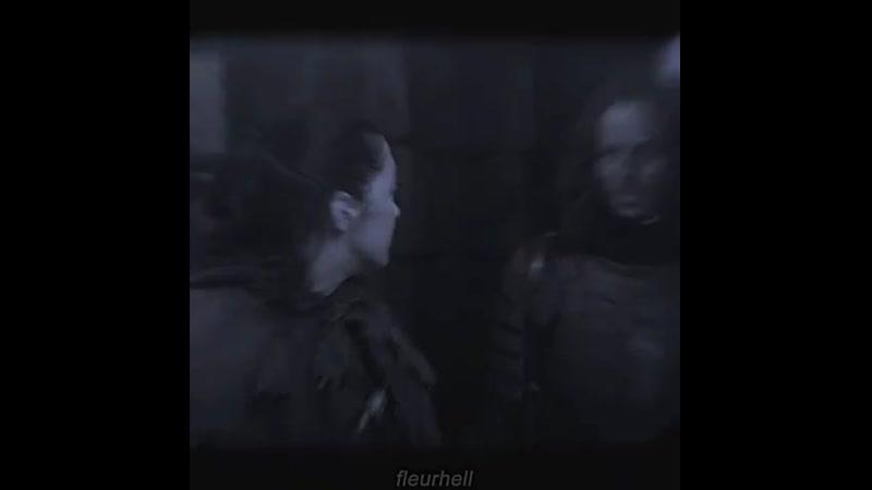 Arya × Jaqen