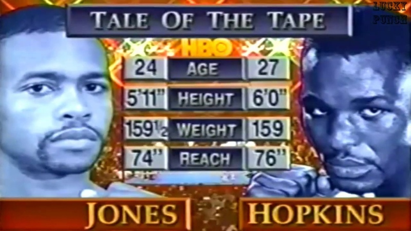 Roy Jones Jr vs Bernard Hopkins I Highlights For vacant IBF middleweight title