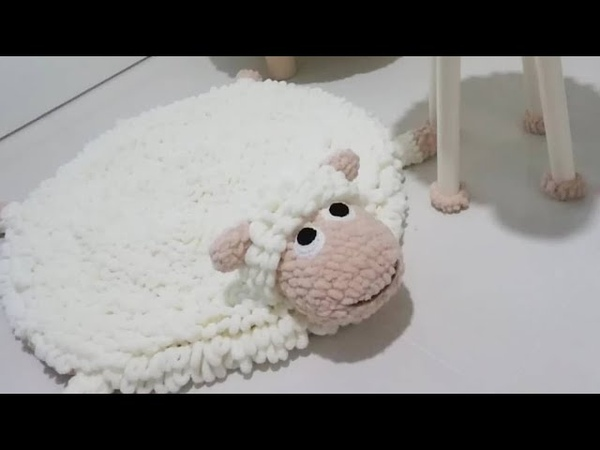 ALİZE PUFFY İLE OYUN HALISI (Püsküllü oyun halısı , play mats , banyo paspası )PART 1