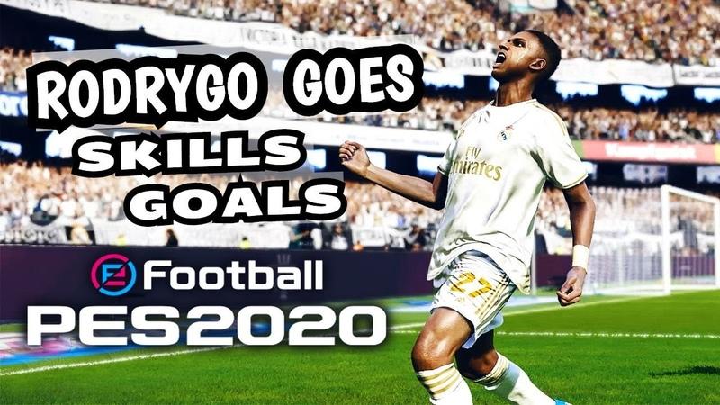 Rodrygo Goes Skills Goals | PES 2020 | HD