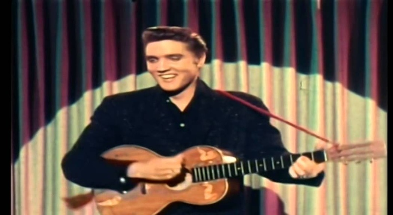 Musicless Musicvideo ELVIS PRESLEY Blue Suede Shoes