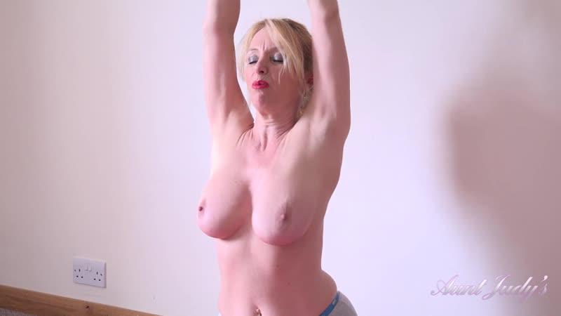 Lucinda Workout Masturbation On Yoga Mat Mature, Solo, Posing, Big Tits,