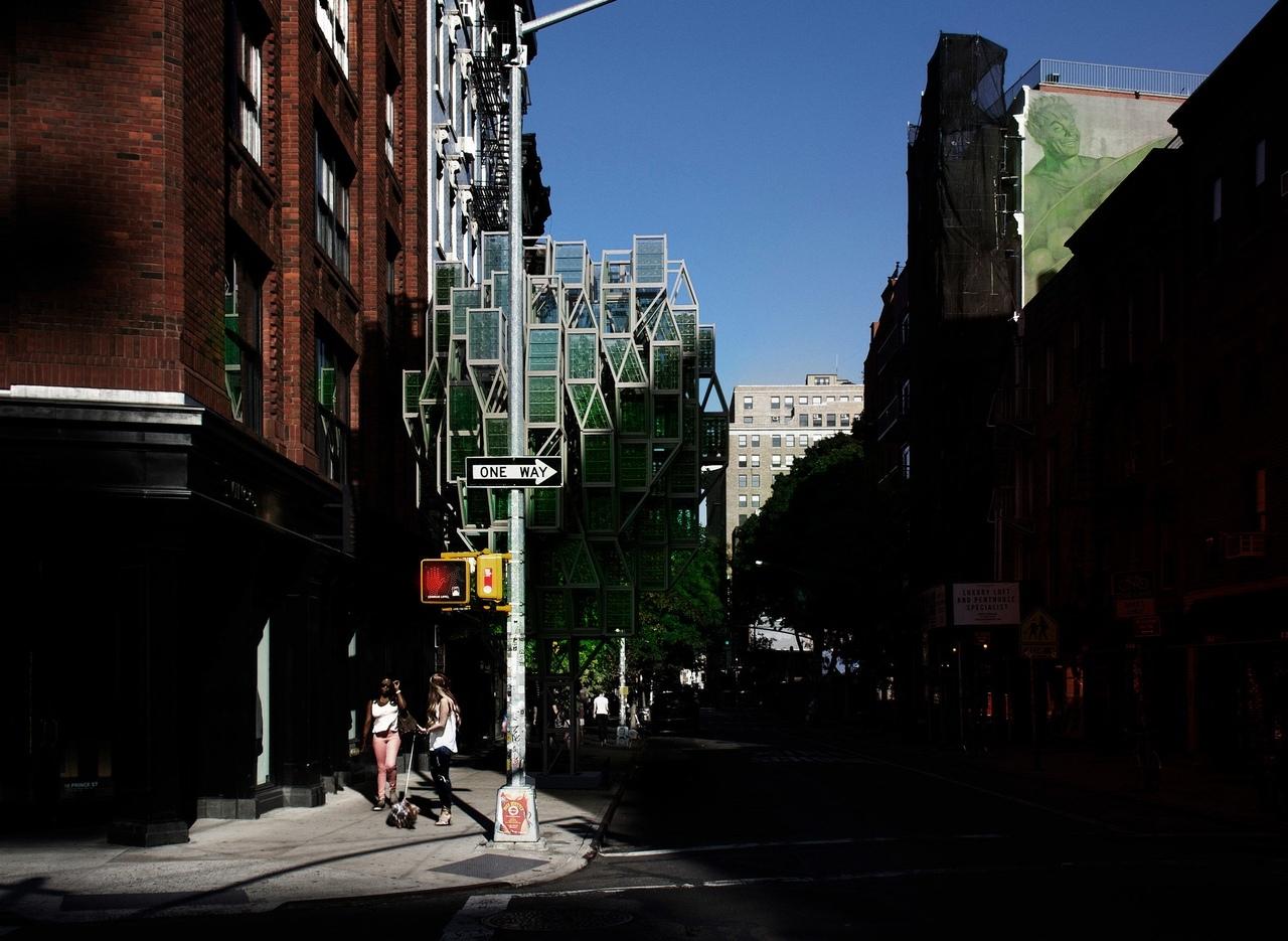 Framlab proposes modular vertical farms for Brooklyn neighbourhoods