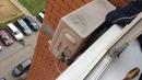 Демонтаж кондиционера с распакечиванием окна