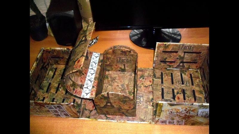 Органайзер для бантиков* Ларец-кладенец/Волшебная шкатулка*обзор