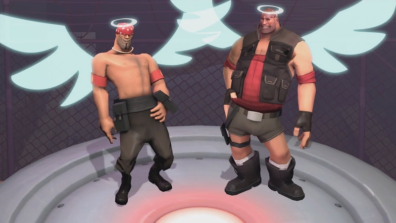 Angels Of Flex! [ Fly away TF2 ]