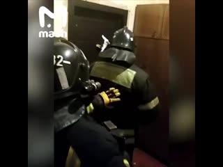 Перцовый против шампура. Или обычный день из жизни подмосковных пожарных