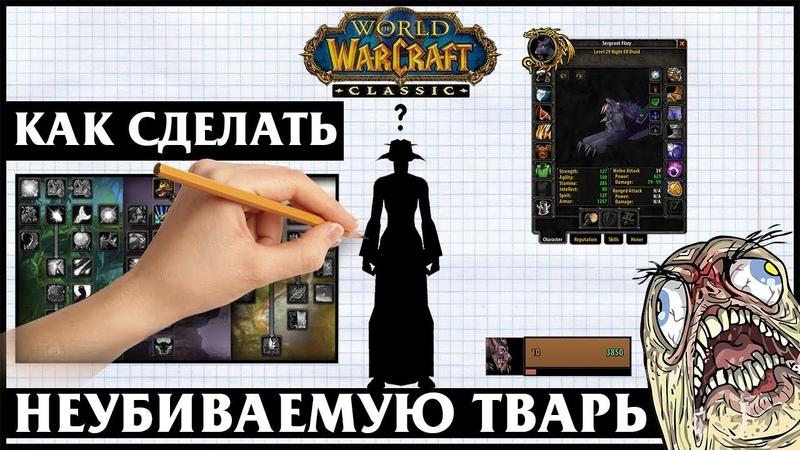 Гайд на Друида Твинка Guide Druid Twink 29 lvl World of Warcraft Classic