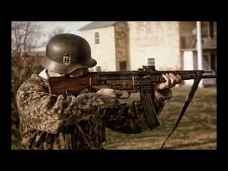Немецкая легендарная штурмовая винтовка StG44 Sturmgewehr.Обзор и стрельба.