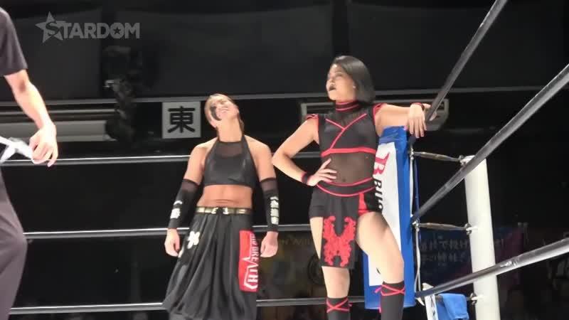 06 Tag Team Match Kagetsu Hana Kimura vs Saki Kashima Mayu Iwatani