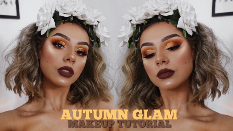 YOUR GAL IS BRINGING YOU AUTUMN GLAM VIBES CHIT CHAT MAKEUP TUTORIAL