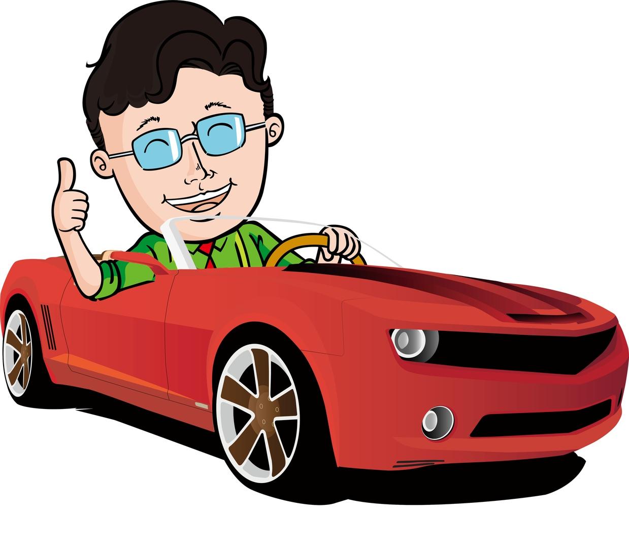 Водитель рисунок для детей