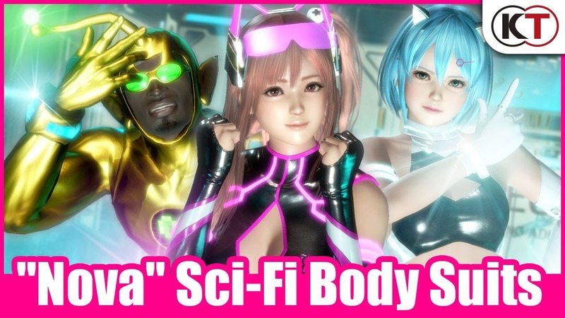 DEAD OR ALIVE 6 - Nova Sci-Fi Body Suits Trailer