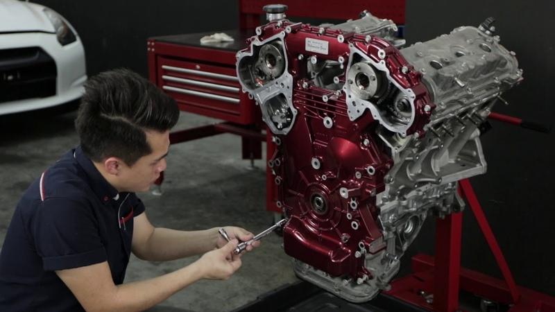 Nissan GT R R35 Engine Restoration by Hanz autoworks