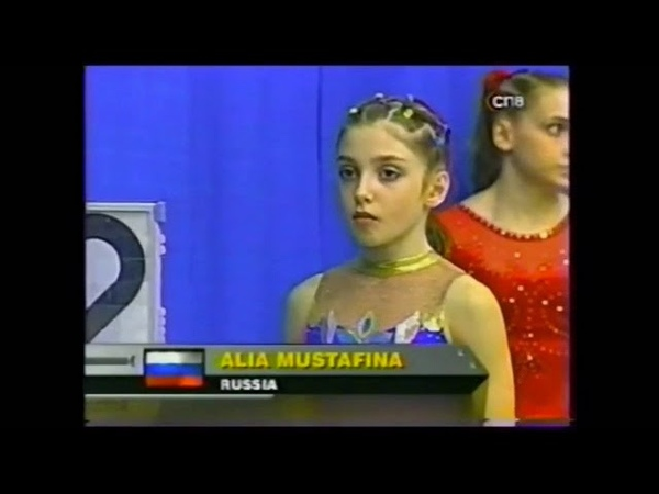 Throwback Aliya Mustafina at 11 years old