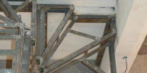 Лестница из профильной трубы своими руками: чертежи и пошаговый монтаж, изображение №40
