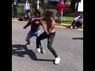 Typical fights in da hood