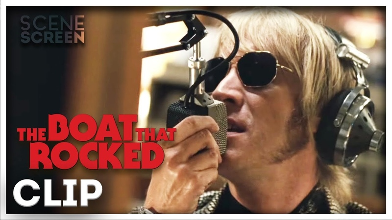 The Boat That Rocked Broadcasts To The Nation Rhys Ifans
