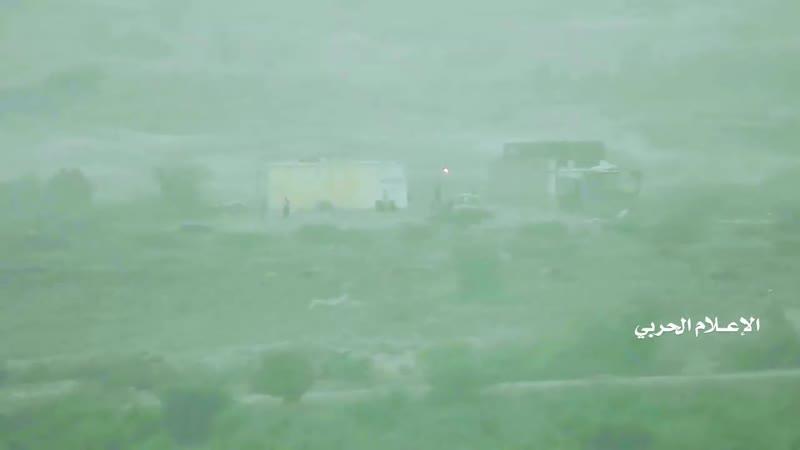 Хуситы уничтожили из ПТРК пикап хадистов в районе города Харад Хаджа