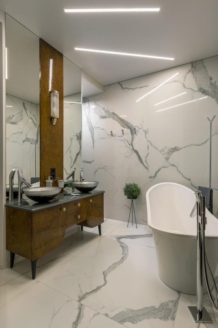 Квартира в комплексе Barrin House по проекту Анастасии Стенберг, 115 м² || 02