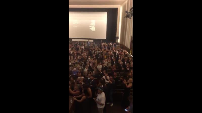 «Джокер» Тодда Филлипса на 76-м Венецианском кинофестивале удостоился стоячих оваций
