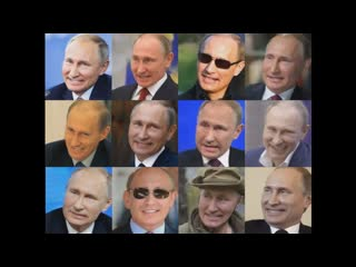 Путин и его клоны поют опенинг Токийского гуля